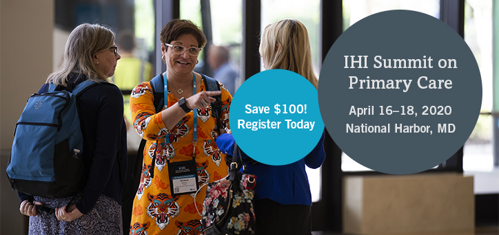IHI Summit on Primary Care
